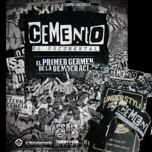 COMBO POSTER + LLAVERO CEMENTO