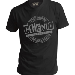 REMERA CEMENTO EL DOCUMENTAL