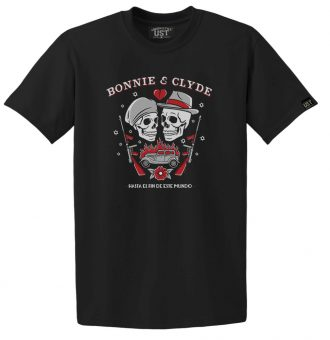 Remera Hombre bonnie&clyde